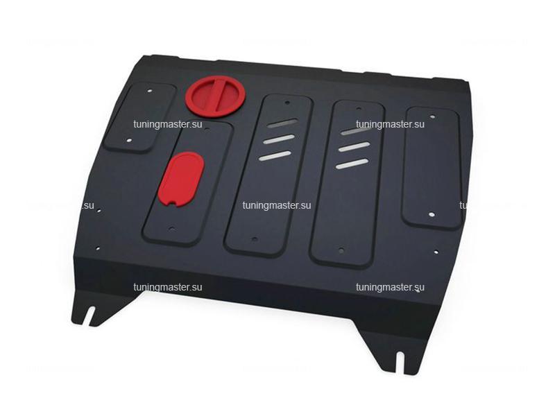 Защита картера и КПП Nissan Tiida C13