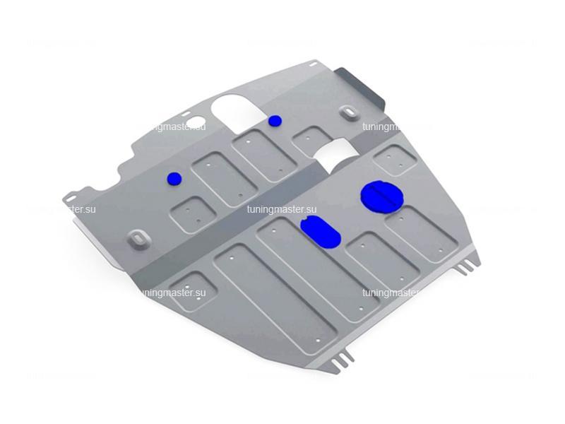 Защита картера и КПП Opel Antara (алюминиевая)