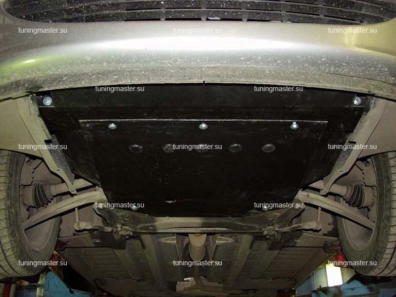 Защита картера и КПП Peugeot 307