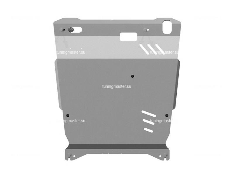 Защита картера и КПП Peugeot 4007 (алюминиевая)
