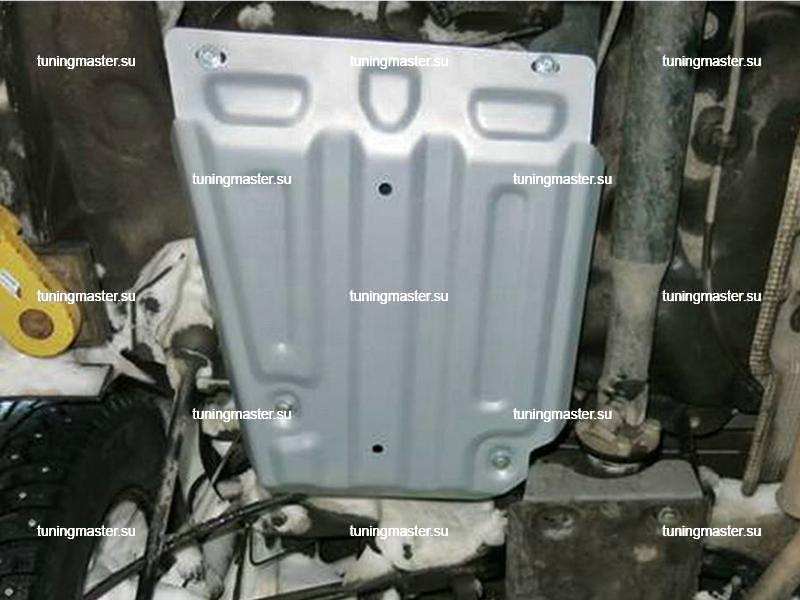 Защита топливного бака Renault Kaptur (алюминиевая)