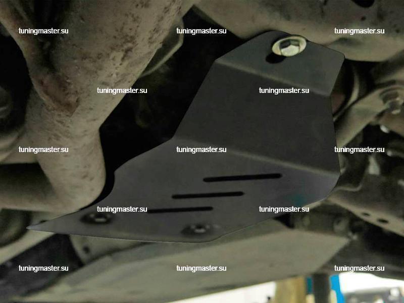 Защита заднего редуктора Renault Koleos