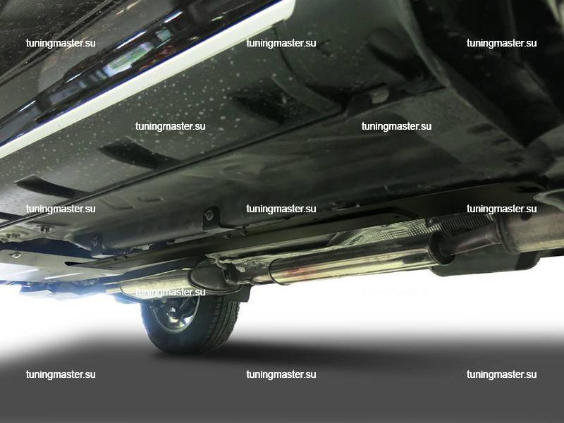 Защита топливных трубок бака Renault Duster