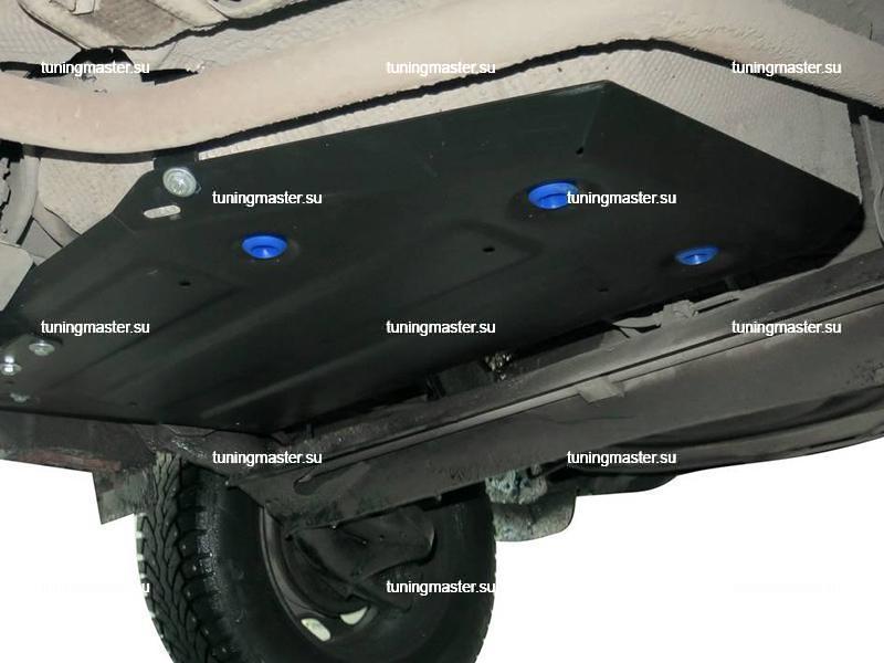 Защита топливного бака Renault Duster