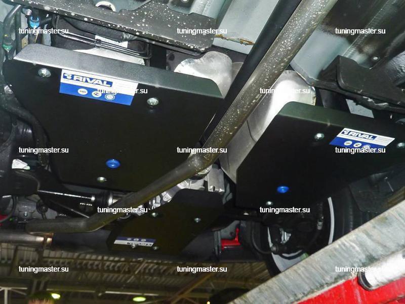 Защита топливного бака Opel Mokka