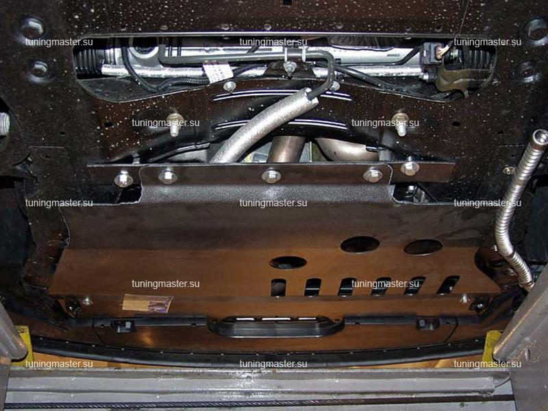 Защита картера и КПП Peugeot 607