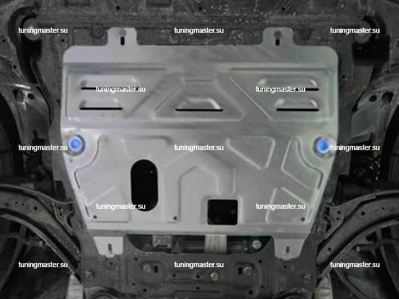 Защита картера и КПП Renault Koleos (алюминиевая)