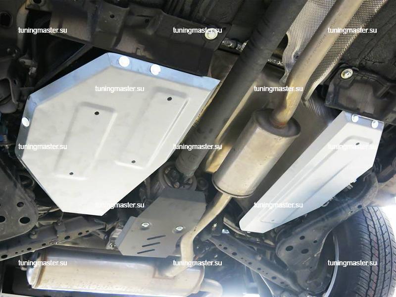 Защита топливного бака Renault Koleos (алюминиевая)