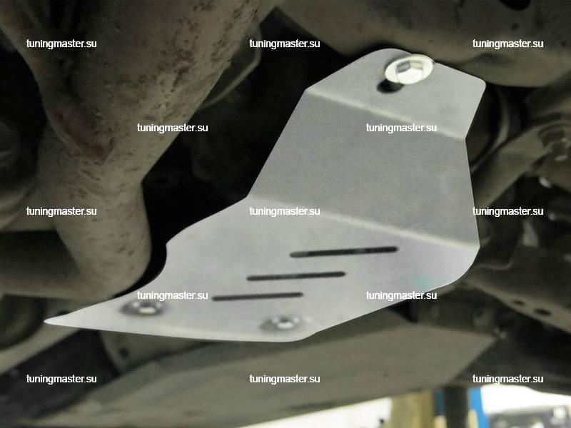 Защита заднего редуктора Renault Koleos (алюминиевая)