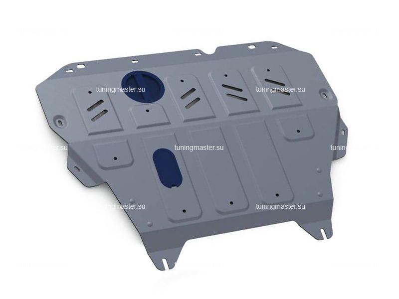 Защита картера и КПП Nissan Tiida C13 (алюминиевая)