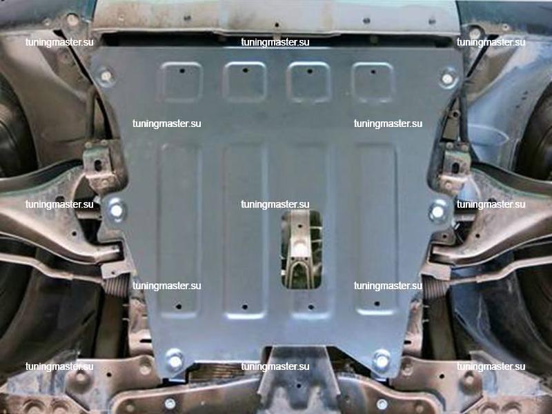 Защита картера и КПП Nissan Terrano (алюминиевая)