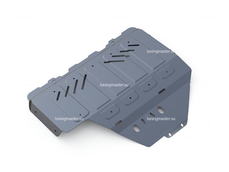 Защита картера Subaru XV увеличенная (алюминиевая)