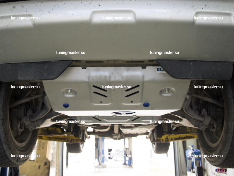 Защита радиатора Toyota Land Cruiser Prado 150 (алюминиевая)