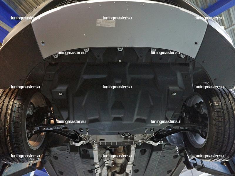 Композитная защита картера Skoda Octavia A5