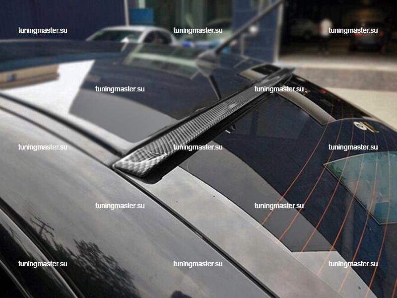 Спойлер универсальный на крышку багажника Samurai (карбон) (2)