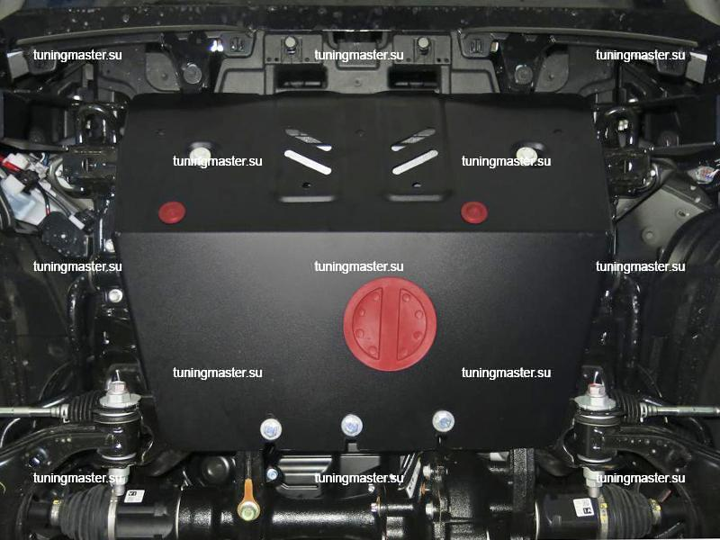 Защита радиатора Toyota Land Cruiser Prado 150