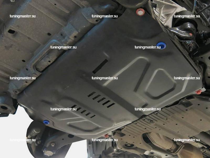 Защита картера и КПП Toyota Camry XV40 увеличенная
