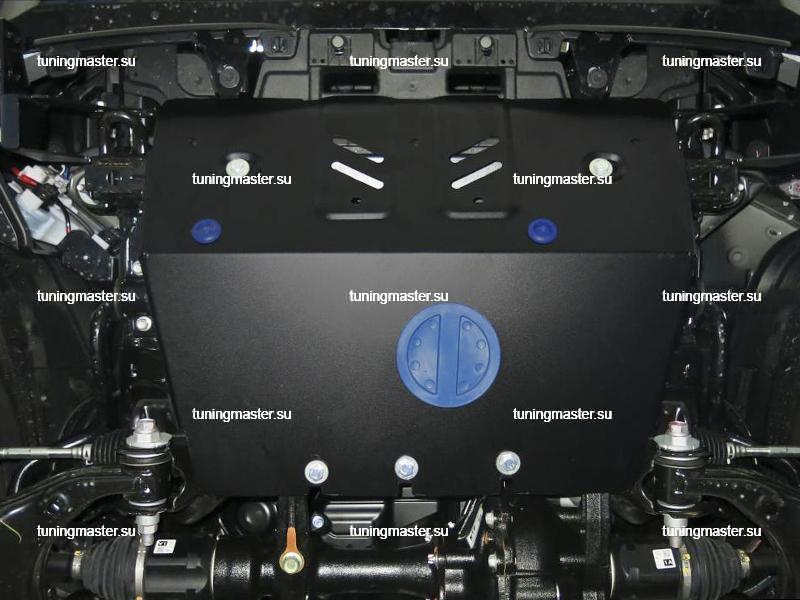 111.9516.1 Защита радиатора Toyota Land Cruiser Prado 150