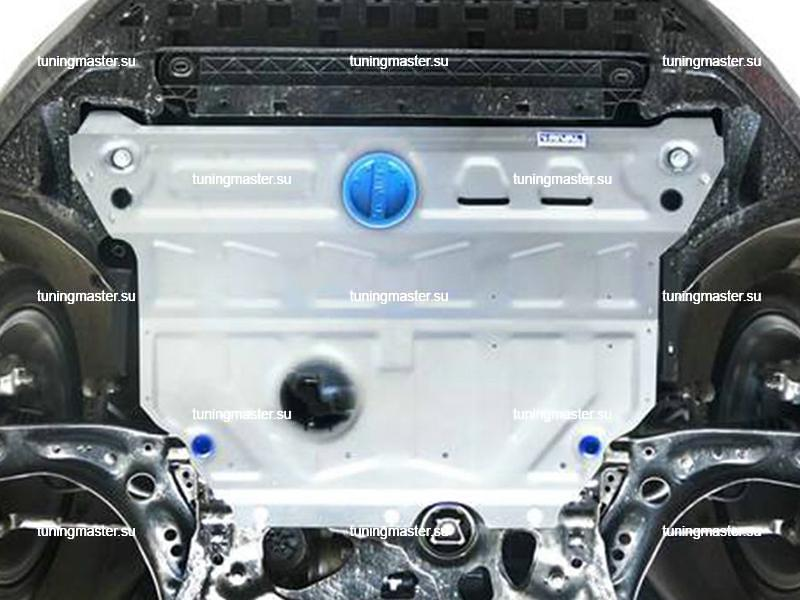 Защита картера и КПП Skoda Octavia A7 (алюминиевая)