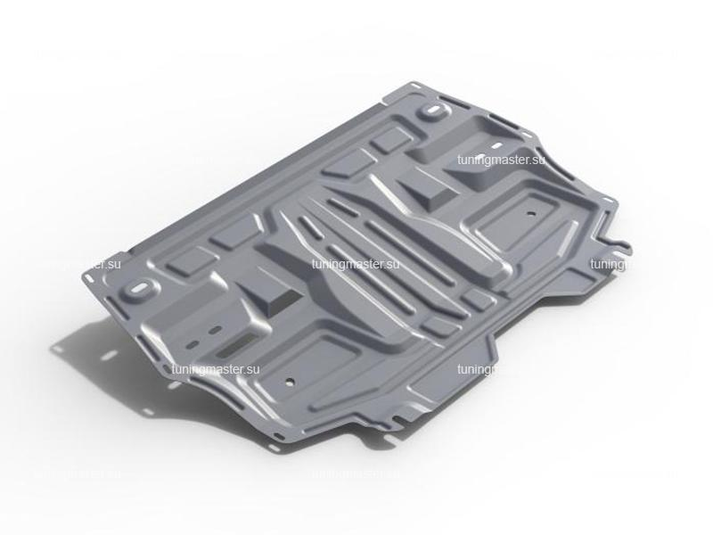 Защита картера и КПП Skoda Roomster (алюминиевая)