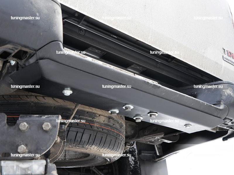 Защита заднего бампера Volkswagen Amarok