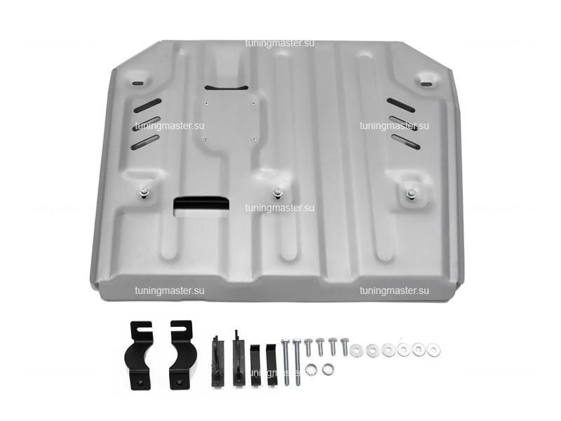 Защита КПП и РК Volkswagen Touareg (алюминиевая)