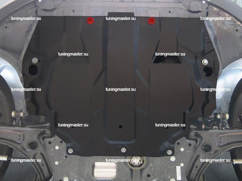 Защита картера и КПП Volkswagen Jetta 6