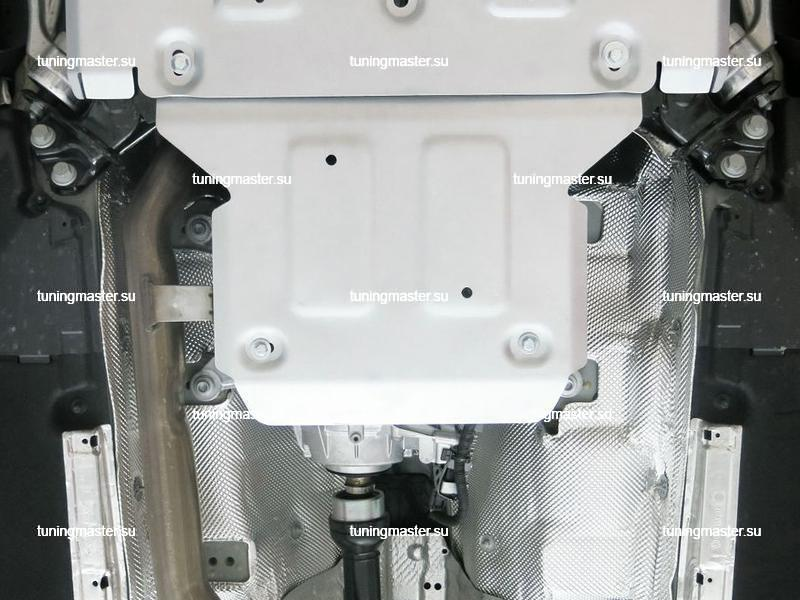 Защита раздаточной коробки Audi Q5 (алюминиевая)