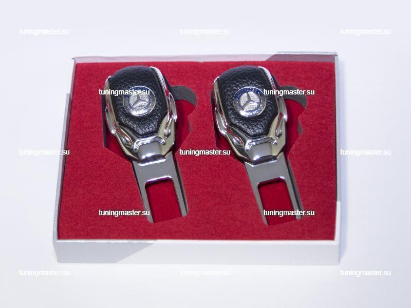 Заглушка ремня безопасности с логотипом Mercedes BenzPremium