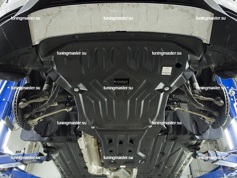 Композитная защита картера BMW X3 F25
