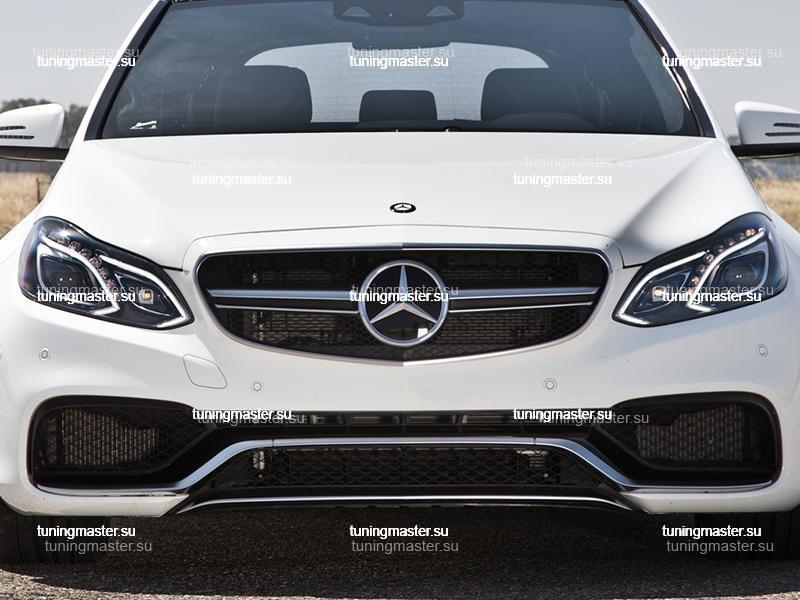 Решетка радиатора Mercedes Benz E-class W212 AMG 6.3