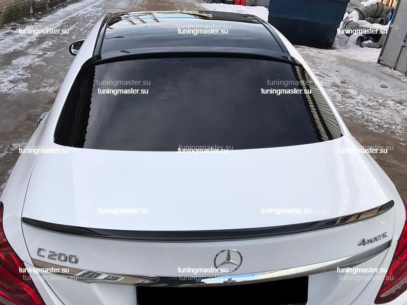 Спойлер на крышку багажника Mercedes Benz W205
