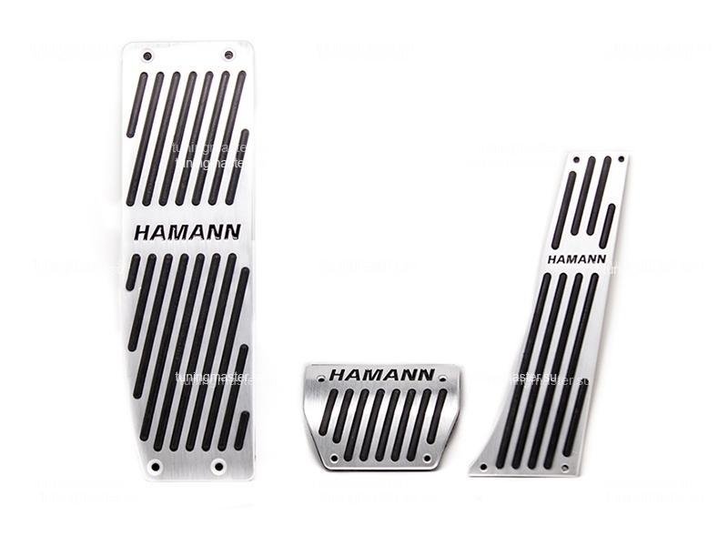 Накладки на педали BMW с логотипом Hamann