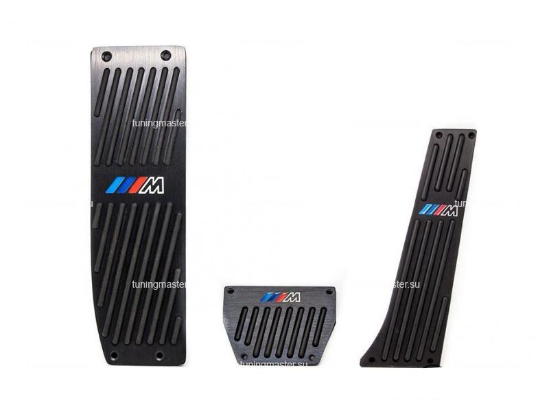 Накладки на педали BMW с логотипом M (Black)