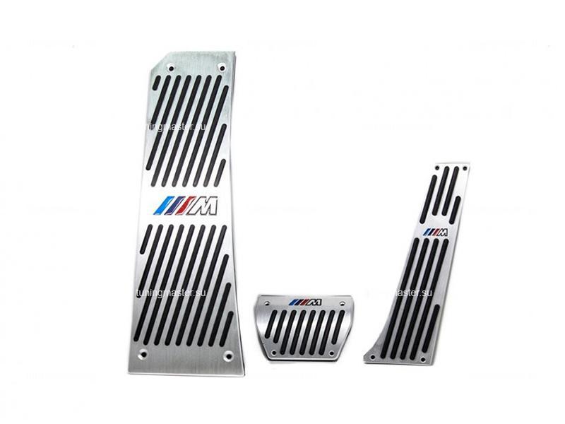 Накладки на педали BMW 5 F10 с логотипом M