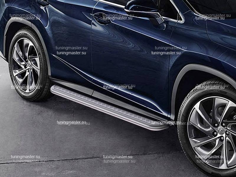 Пороги Lexus RX труба с листом Ø57
