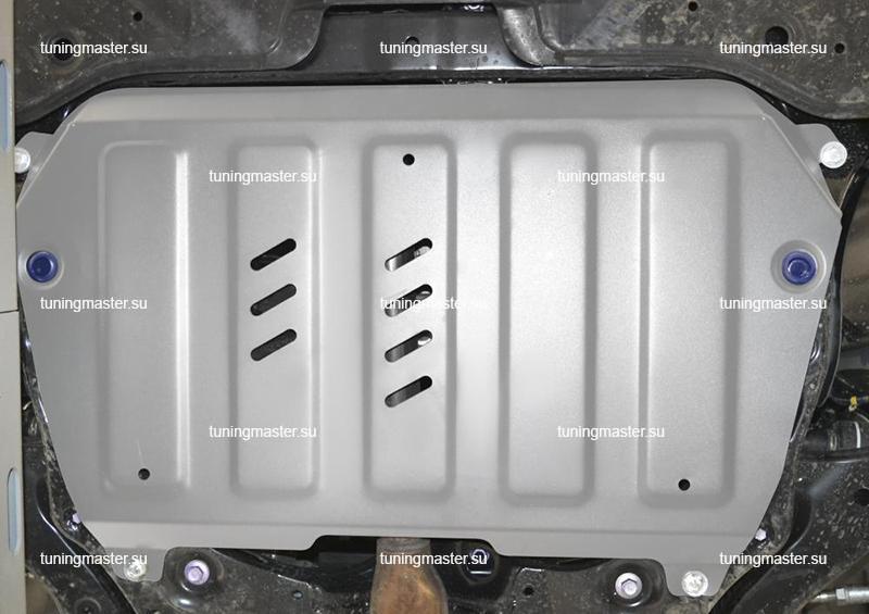 Защита картера и КПП Toyota Camry XV70 (алюминиевая)