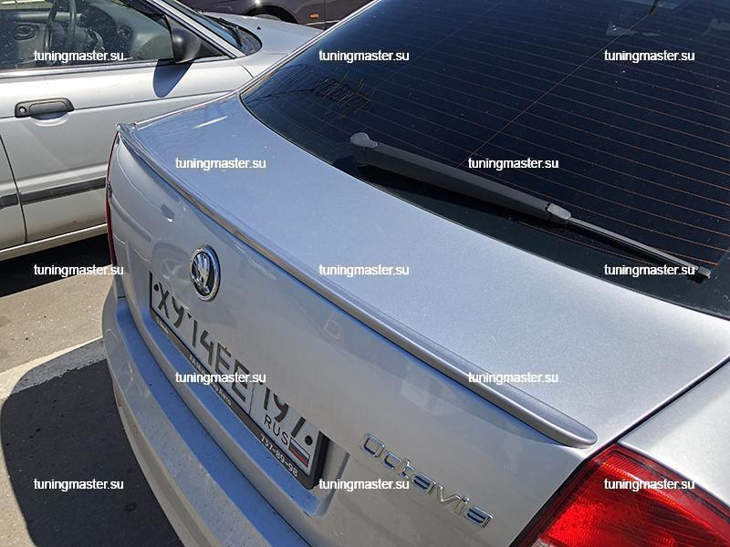 Спойлер на крышку багажника Skoda Octavia A5