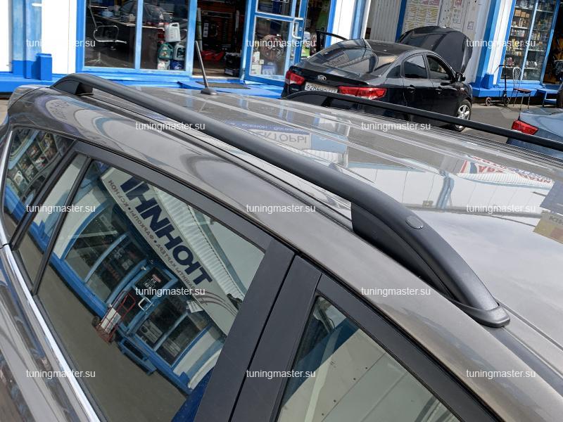 Рейлинги на крышу Toyota RAV4 (черные)