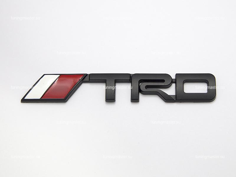 Эмблема в решетку радиатора TRD (Black)