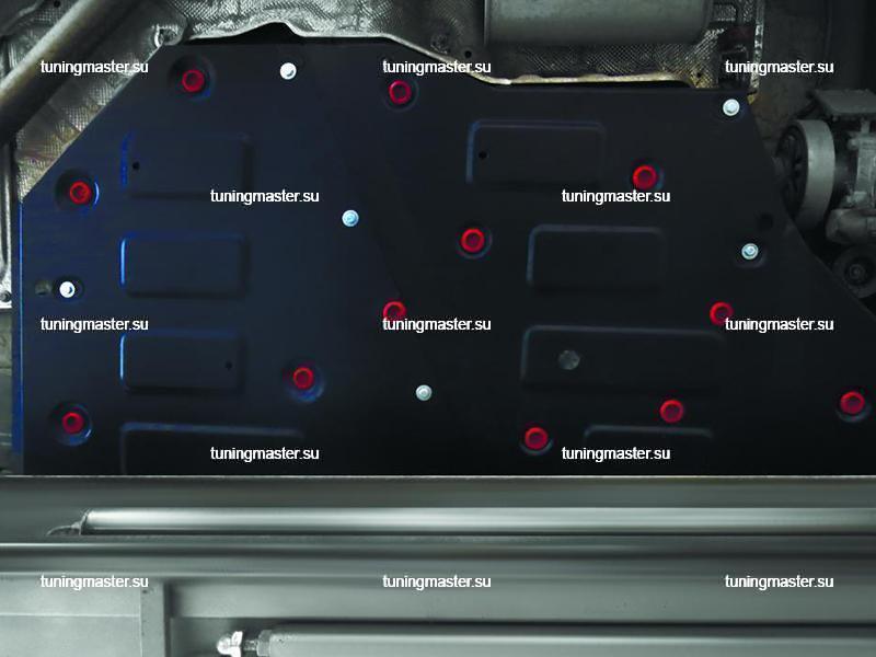 Защита топливного бака Volkswagen Teramont