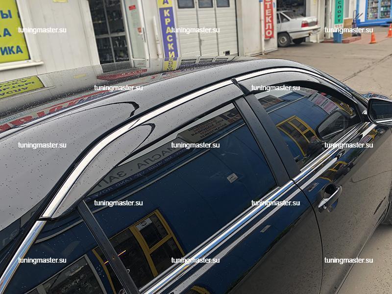 Дефлекторы боковые Toyota Camry
