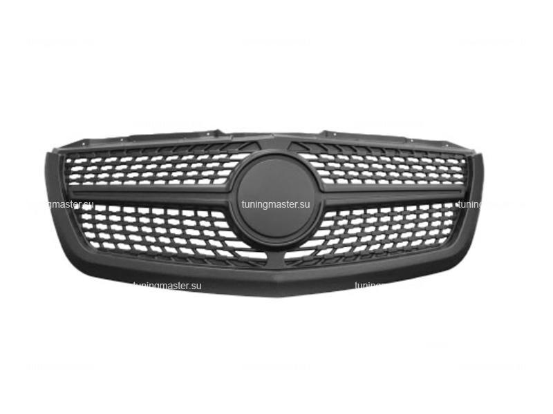 Решетка радиатора Mercedes Benz Sprinter W906 (Style Diamond)