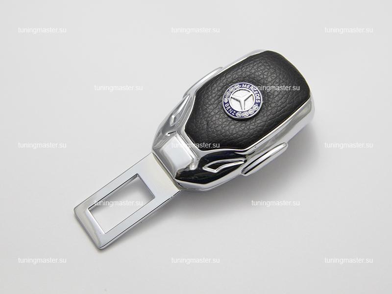 Заглушка ремня безопасности с логотипом Mercedes Benz (Premium)
