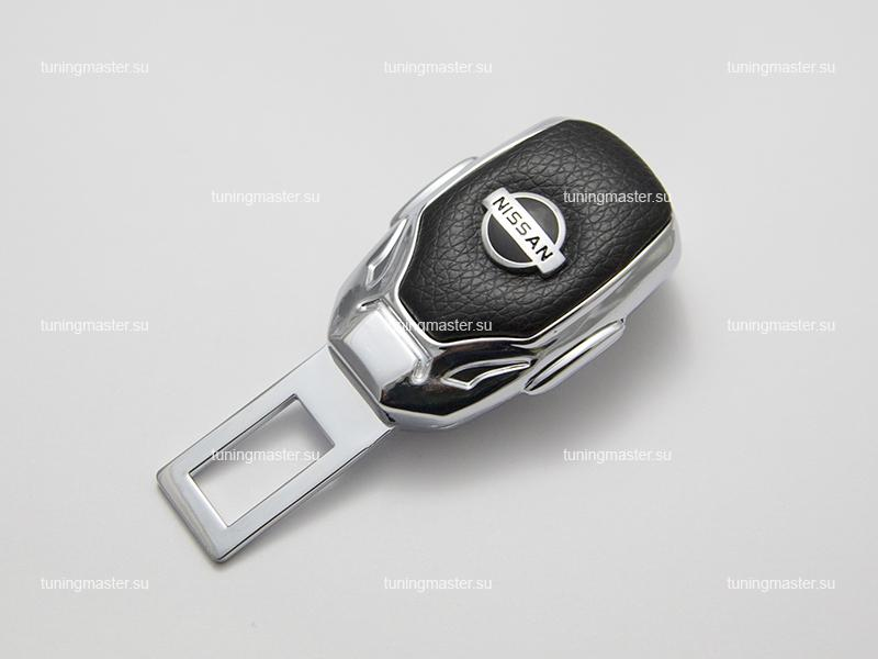 Заглушка ремня безопасности с логотипом Nissan (Premium)