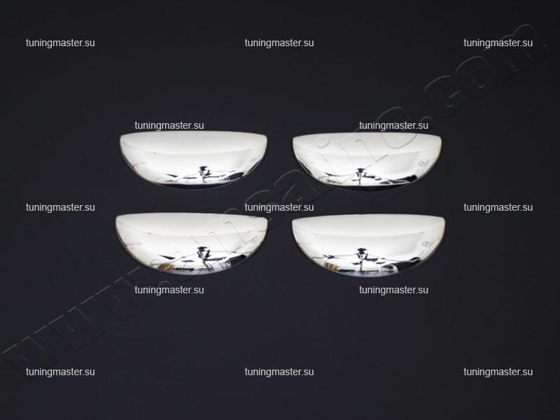 Накладки на ручки дверей Peugeot 107