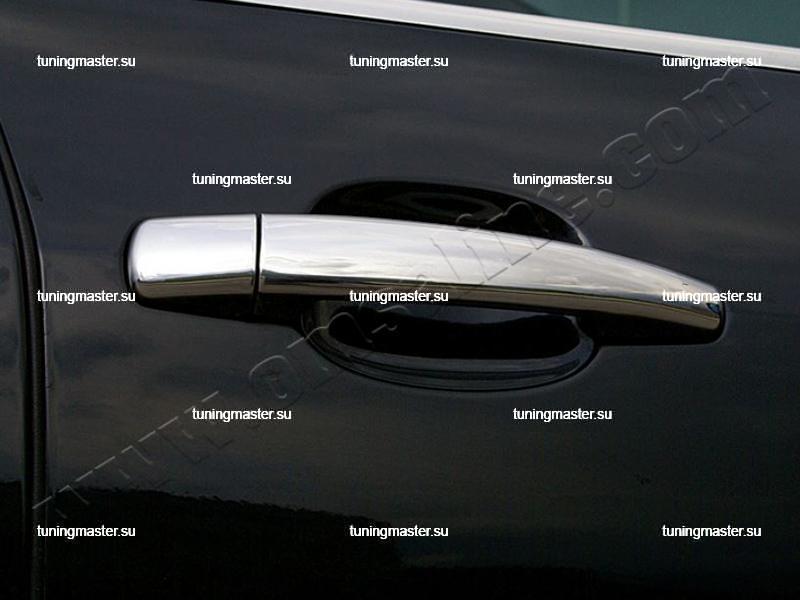 Накладки на ручки дверей Peugeot 207