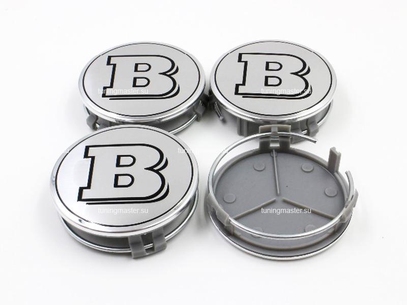 Заглушка колесных дисков Mersedes Benz с логотипом Brabus