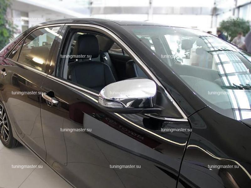 Накладки на зеркала Toyota Camry XV50