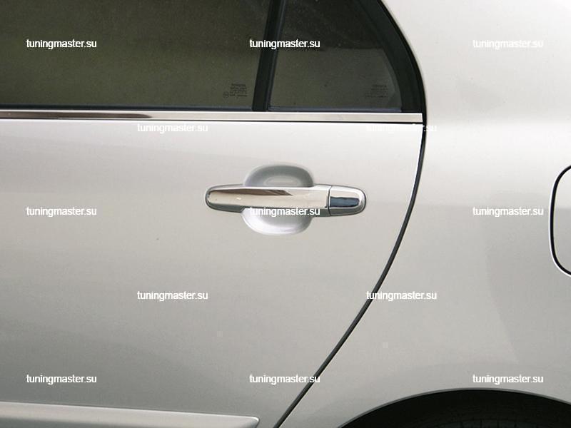 Накладки на ручки дверей Toyota